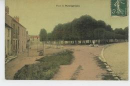 ORRY LA VILLE (environs) - Place De MONTGRÉSIN (belle Carte Toilée ) - Frankrijk