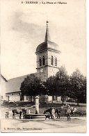 Ain : Brénod : La Place De L'Eglise - France