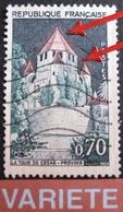 R1949/76 - 1963 - PROVINS - N°1392Ab ☉ - VARIETE ➤➤➤ Toits Flamboyants - Curiosités: 1960-69 Neufs
