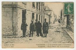 02 - Soissons -       La Rue De Beauton Après Le Bombardement - Soissons