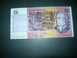 Australia 5 Dollars - Decimal Government Issues 1966-...
