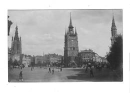 Carte Photo ,Kortrijk ,Grote Markt. (18/07/1918). - Kortrijk