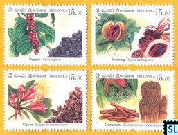 Sri Lanka Stamps 2019, Spices, MNH - Sri Lanka (Ceylan) (1948-...)