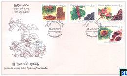 Sri Lanka Stamps 2019, Spices, FDC - Sri Lanka (Ceylon) (1948-...)