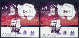 Antarctic Exploration - Captain Robert Scott(1868-1912) – Bulgaria /Bulgarie 2019 – 2 Blocks  MNH** - Polarforscher & Promis