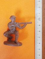 SOLDATINO SOLDIER ATLANTIC INGLESE 1:32   VINTAGE - Figurines