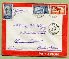 SAFFI  : LETTRE PAR AVION De 1928 - Morocco (1891-1956)