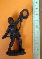 SOLDATINO SOLDIER ATLANTIC PARATROOPER ITALY 1:32   VINTAGE - Figurines