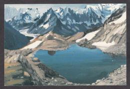 PG172/ Florence GRANDGIRARD, *Le Pic Du Lac Blanc* - Peintures & Tableaux