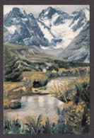 PG173/ Florence GRANDGIRARD, *Le Col Du Lautaret* - Peintures & Tableaux
