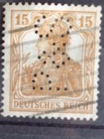 1916-19 Y&T 99 PERFORE P & S - Deutschland