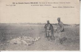 Grande Guerre 1914 /15/16 - En Avant De SOUAIN - Cadavres Boches Et Anciennes Lignes Allemandes PRIX FIXE - Souain-Perthes-lès-Hurlus