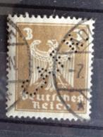 1924  MICH. N° 355 PERFORE C. A. F. K. - Deutschland