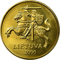 Monnaie, Lithuania, 50 Centu, 2000, SUP, Nickel-brass, KM:108 - Lithuania
