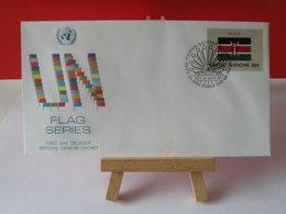 Nations Unies > Office De Genève - Kenya - 23.9.1983 - FDC 1er Jour - Office De Genève
