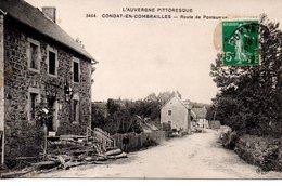 Puy De Dôme : Condat En Combrailles : Route De Pontaumur - France
