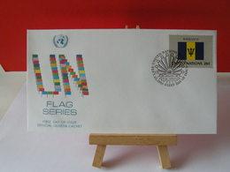 Nations Unies > Office De Genève - Barbados (Barbade)- 23.9.1983 - FDC 1er Jour - Office De Genève