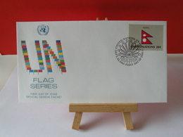 Nations Unies > Office De Genève - Népal - 23.9.1983 - FDC 1er Jour - Office De Genève