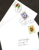 LITHUANIA / LITAUEN Wappen Versch. 6x Umschlägen / Various Coat Of Arms On 6x Letters - Lithuania