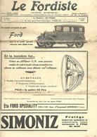 75 Paris Revue Le Fordiste De 1929  De 12 Pages  N 126 - Livres, BD, Revues