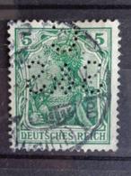 1902 MICH. N° 70 PERFORE C S & S - Deutschland