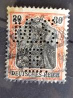 1902 MICH. N° 74 PERFORE M. S. E. - Deutschland