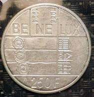 """Belgium 250 Francs 1994 """"50 Years Of The Benelux"""" - 1993-...: Albert II"""