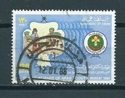 1984 Oman Scouting Used/gebruikt/oblitere - Oman