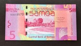 WESTERN SAMOA P35 5 TALA 2008 UNC - Samoa