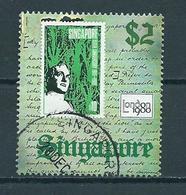 1980 Singapore $2 London Stamp Show Used/gebruikt/oblitere - Singapore (1959-...)