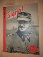 Revue SIGNAL Propagande Allemande éditée En Français Pendant La WW2   N° 5 De 1944. Degrelle Décoré.. - 1939-45