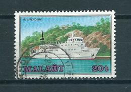 1985 Malawi Ship,boat Used/gebruikt/oblitere - Malawi (1964-...)