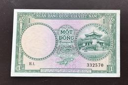 VIETNAM SOUTH P1 1 DONG 1956 VF+ - Vietnam
