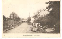 CPA 18 MENETOU - SALON - Petit Lavoir - Lavandières - France