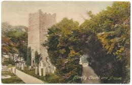 Clovelly Church And Avenue - Unused C1918 - Frith - Clovelly