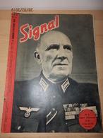 Revue SIGNAL  éditée En Français Pendant La WW2     Octobre 1943  Décoration Du Comte Mayol De Lupé. - 1939-45
