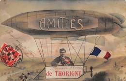 77    .    N° 202821          .             THORIGNY                .                   CARTE AMITIéS DE THORIGNY - Autres Communes