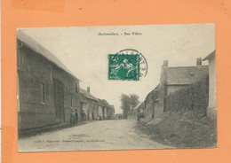 CPA -  Auchonvillers  -  Rue Villon - France