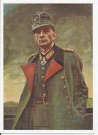 """Feldpost WK II Norwegen, Ungebr.Farb-AK General Dietl """"Der Held Von Narvik"""". #89 - Occupation 1938-45"""