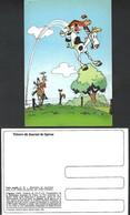 Carte Spirou Robbedoes Depuis Franquin - Ongebruikt Nr 11 Strip BD Comic Cartoon - Cómics