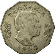 Monnaie, Tanzania, 5 Shilingi, 1988, British Royal Mint, TB+, Copper-nickel - Tanzanía