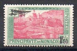 Monaco - YT PA N° 1 - Neuf * - Cote: 30,00 € - Poste Aérienne