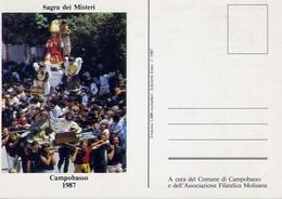 Campobasso - 1987 - Sagra Dei Misteri - S.gennaro - Formato Grande Non Viaggiata – At1 - Campobasso