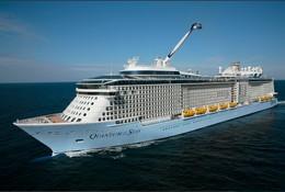 """Ship Postcards - Passenger   Ship : """"Quantum Of The Seas   """"  Variant    Read Description - Unclassified"""