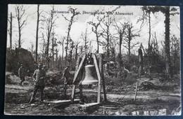 Cpa 55 ABAUCOURT Sturmgloke Tampon Hohenzoll Fussartl Regt N°13  Secteur 290 - Guerra 1914-18