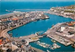 DIEPPE Vue Generale Aerienne Du Port La Gare Maritime 20(scan Recto-verso) MD2505 - Dieppe