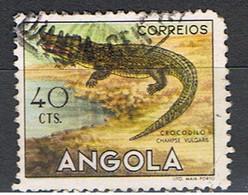 (T 95) ANGOLA // YVERT  361 // CROCODILE // 1953 - Angola