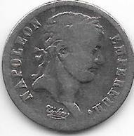 *france 1/2 Frank 1808  W  Km 680.14   Fr+ - France