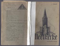 1942 TOPONYMIE VAN MEETKERKE MET EEN GESCHIEDKUNDIGE SCHETS J. POLLET MET TOPONYMISCHE KAART - Histoire