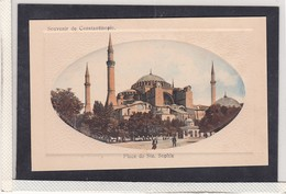 SOUVENIR DE CONSTANTINOPLE , PLACE DE STE SOPHIE , ED. SINAN , T22D - Türkei